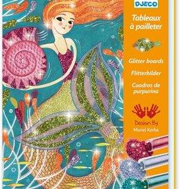 Djeco LGA Glitter Boards Mermaids