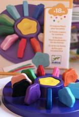 Djeco 12 Flower Crayons