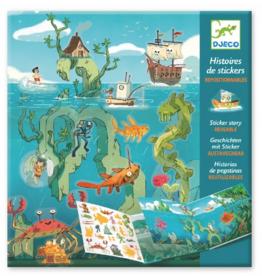 Djeco Sticker Stories Adventure at Sea