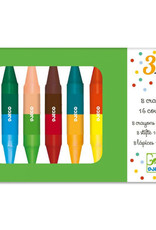 Djeco 8 Twin Crayons