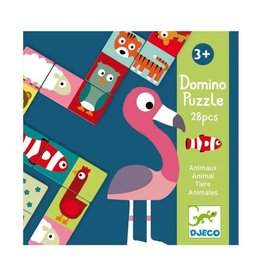 Djeco First Game Animal-Puzzle Domino