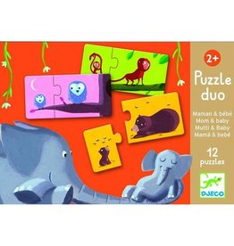 Djeco Puzzle Duo Mom and Baby