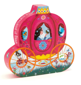 Djeco Silhouette Elise's Carriage Puzzle