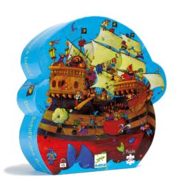 Djeco Silhouette Barbarossa's Boat Puzzle