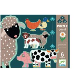 Djeco Progressive Honore & Friends Puzzle