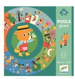 Djeco Giant Floor Puzzles The Year