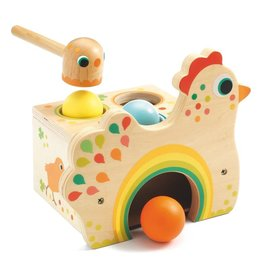 Djeco Early Learning Tapatou Chicken