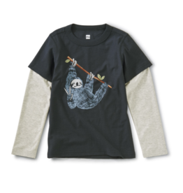 Tea Collection Hanging Out Layered Tee 2T-10
