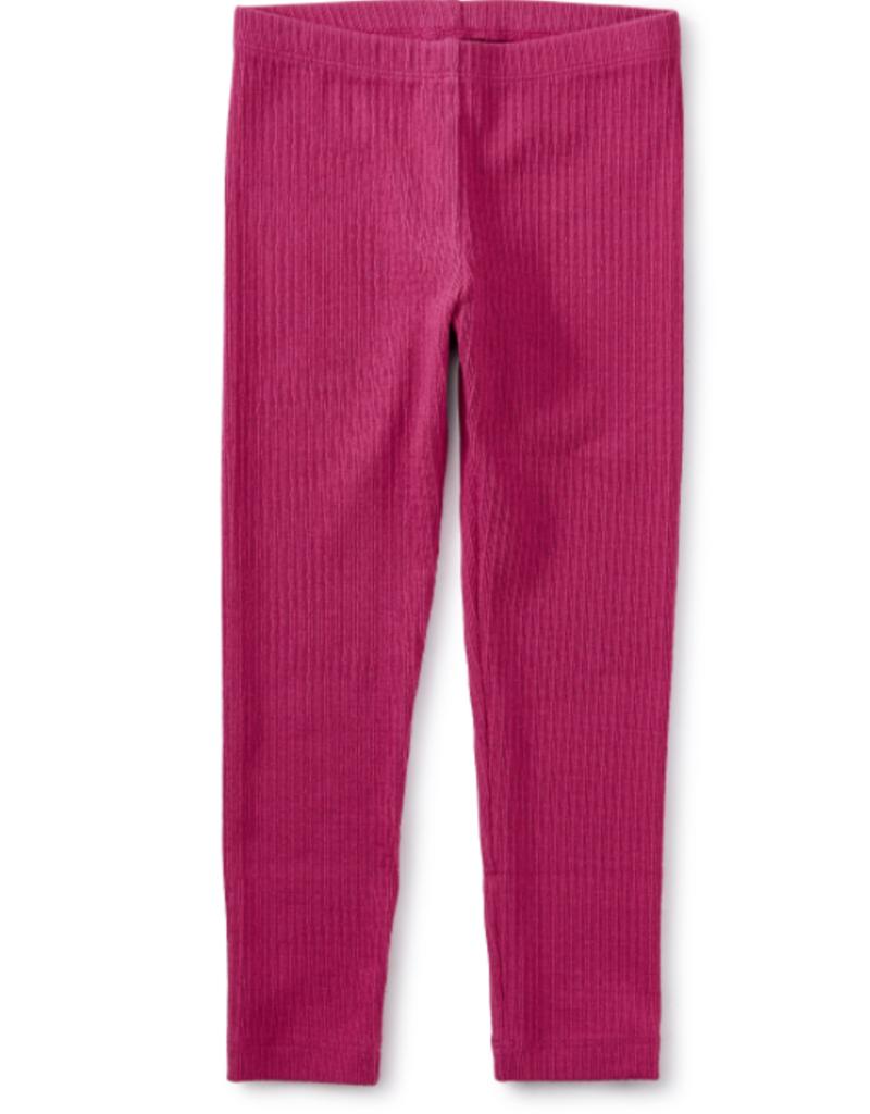 Tea Collection Pointelle Leggings Fiesta Pink 2T-10