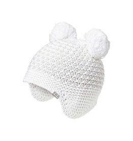 Millymook Infant Peru Kylie Beanie White S(0/12M), L(12/24M)
