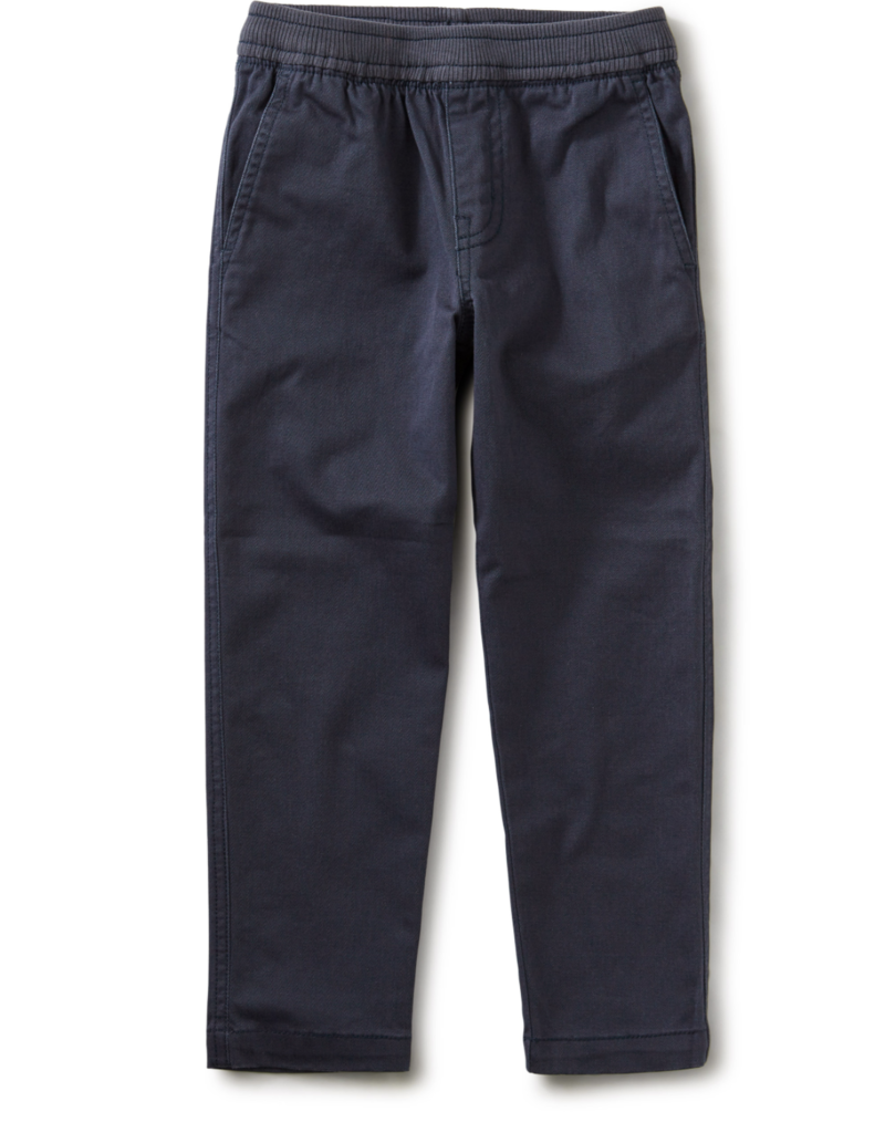 Tea Collection Timeless Stretch Twill Pant Indigo 2T-12