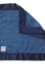 SwaddleDesigns Baby Lovie Puff Circles True Blue