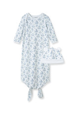 Little Me Boating Knot Gown