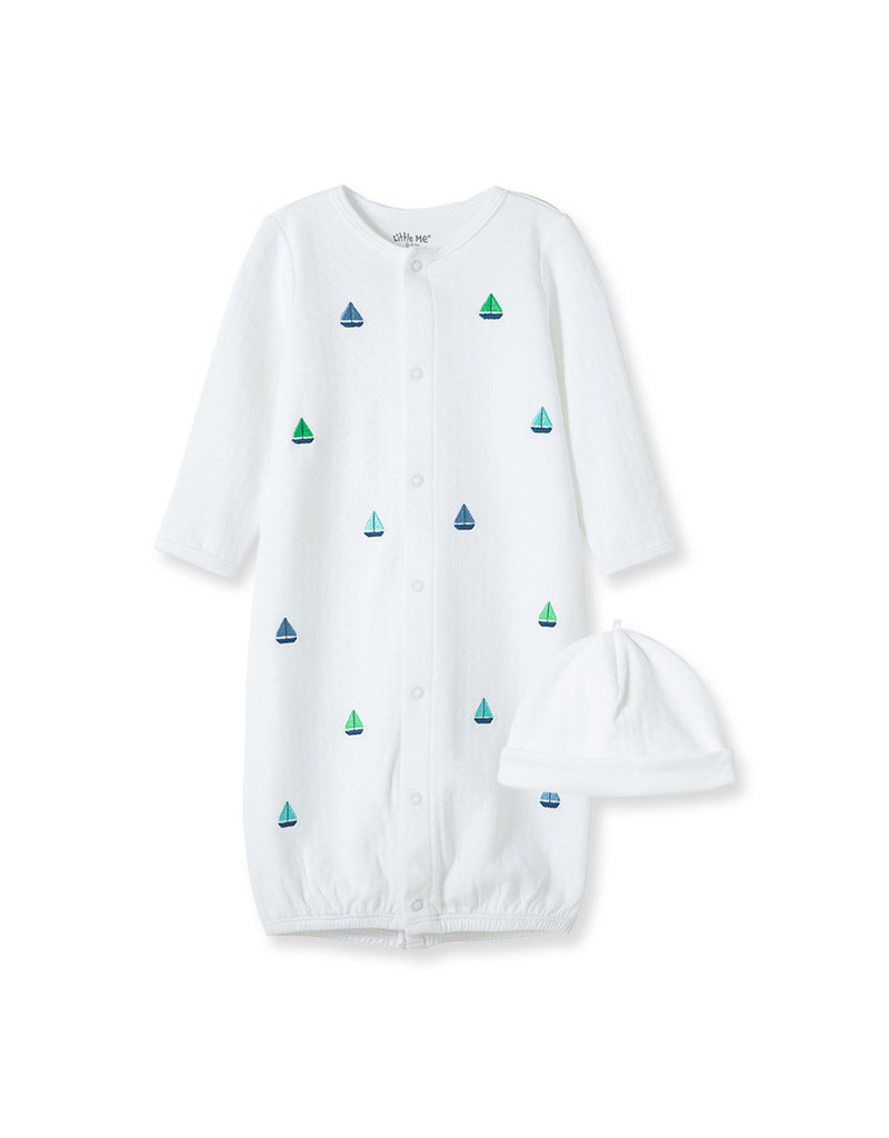 Little Me Boats Conv Gown