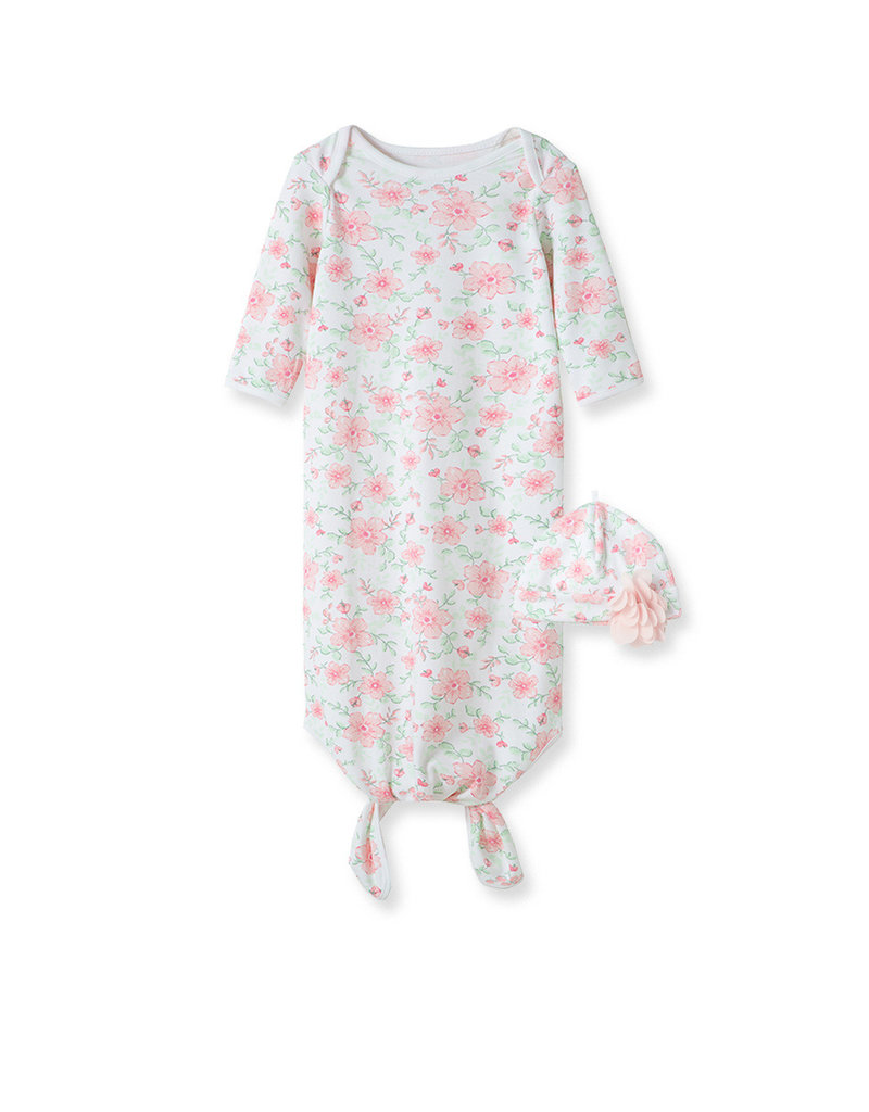 Little Me Flourish Gown w/Hat