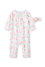 Little Me Floral Coverall