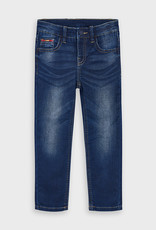 Mayoral Boys Slim Fit Denim Pants Dark