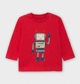 Mayoral Robot T Shirt Red 12M-36M