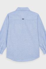 Mayoral L/S Printed Shirt Lt Blue
