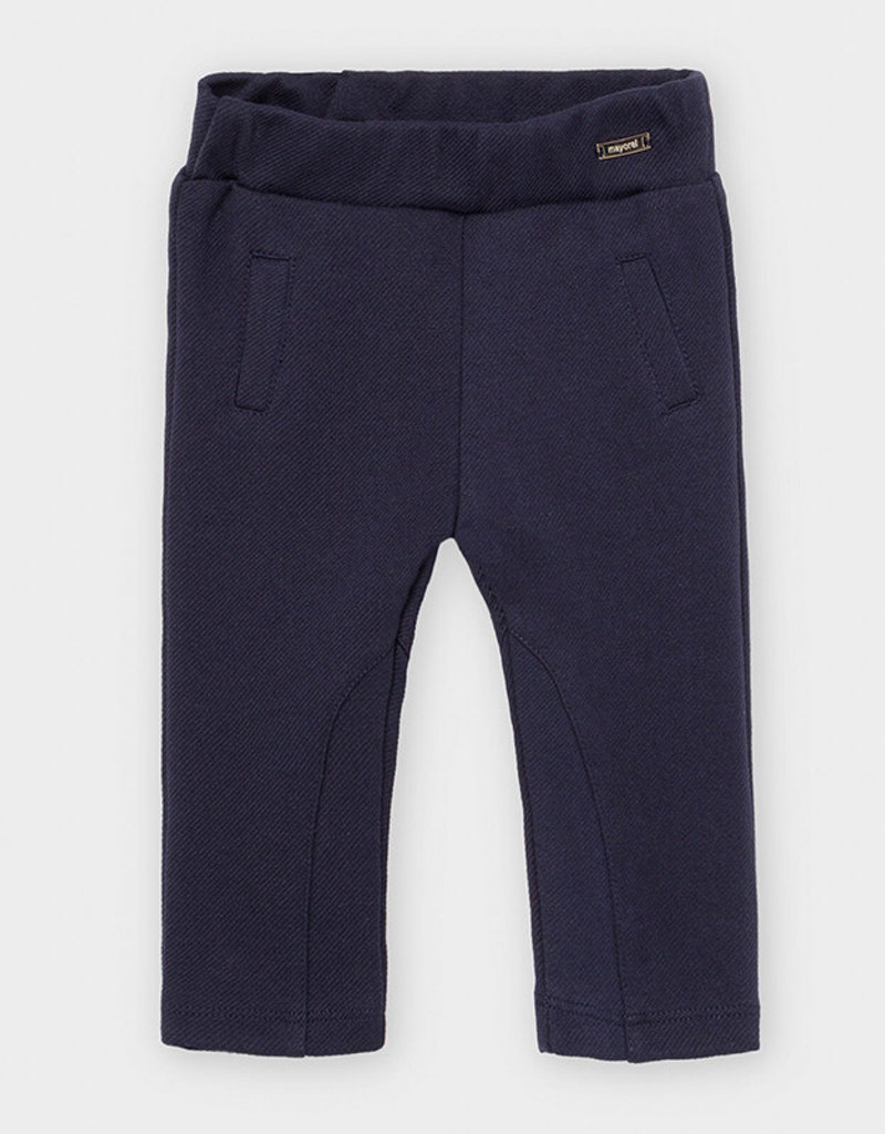 Mayoral Infant Stretchy Pants Navy 9M-36M