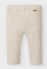 Mayoral Infant Slim Fit Cord Pants Pine Nut 9M-36M