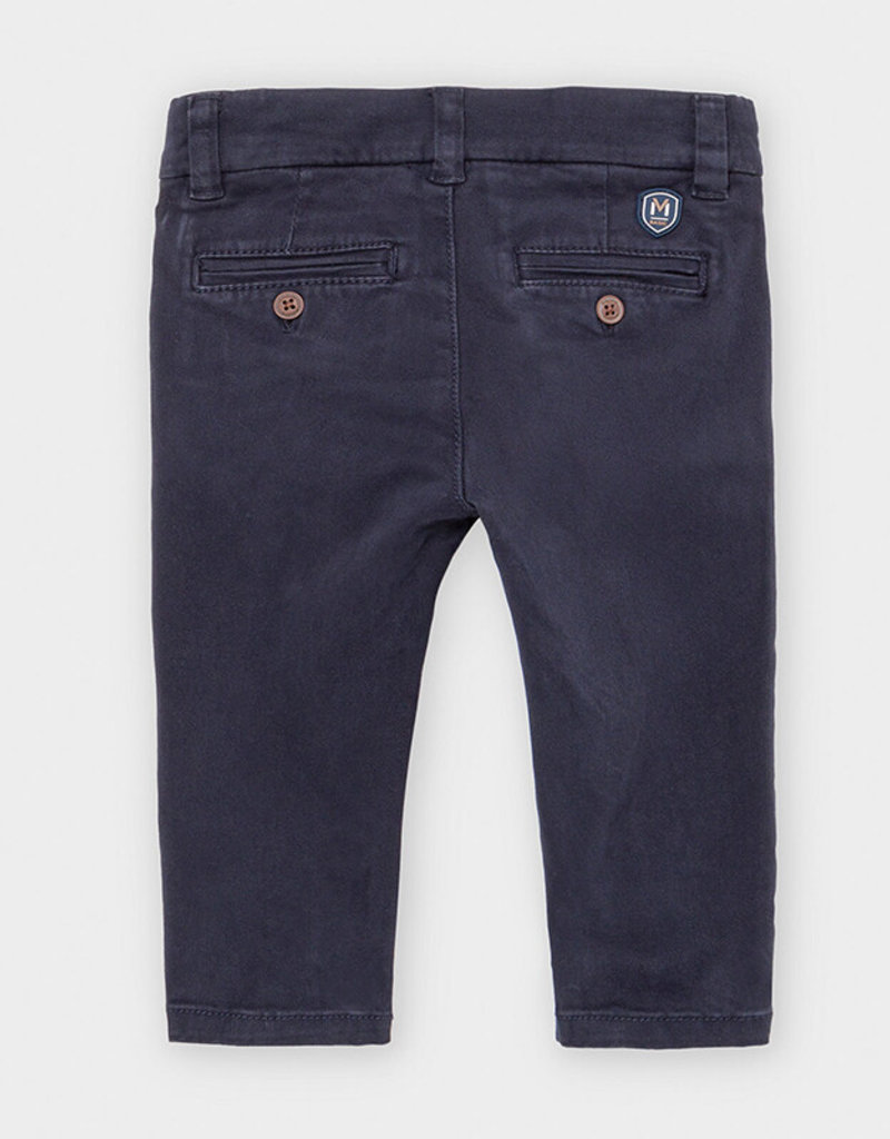 Mayoral Infant Chino Pants Navy 6M-36M