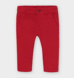 Mayoral Infant Chino Pants Cherry 6M-36M