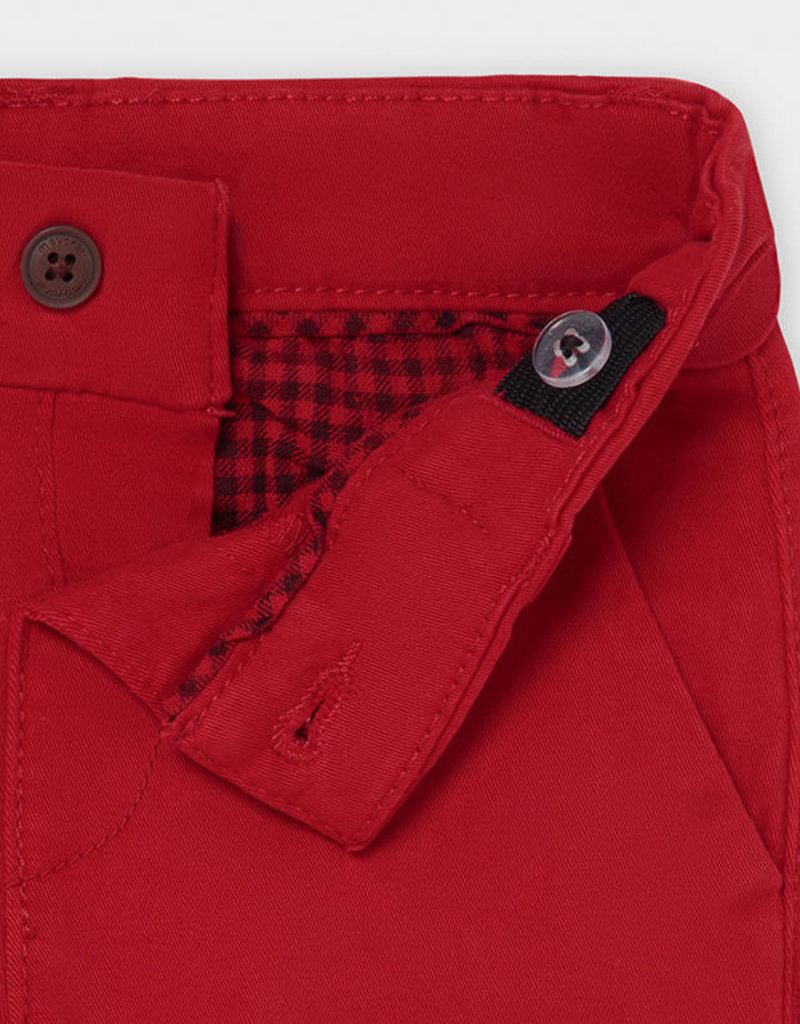 Mayoral Infant Chino Pants Cherry