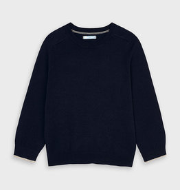 Mayoral Cotton Sweater Navy  4