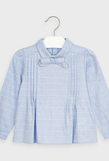 Mayoral High Neck Bow Blouse 2-9