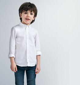 Mayoral Basic L/S Shirt White
