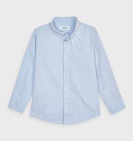 Mayoral Basic L/S Shirt Lt Blue