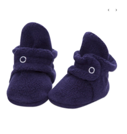 Zutano Fleece Bootie True Navy 3M, 6M