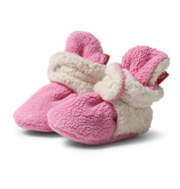 Zutano Furry Bootie Hot Pink 3M