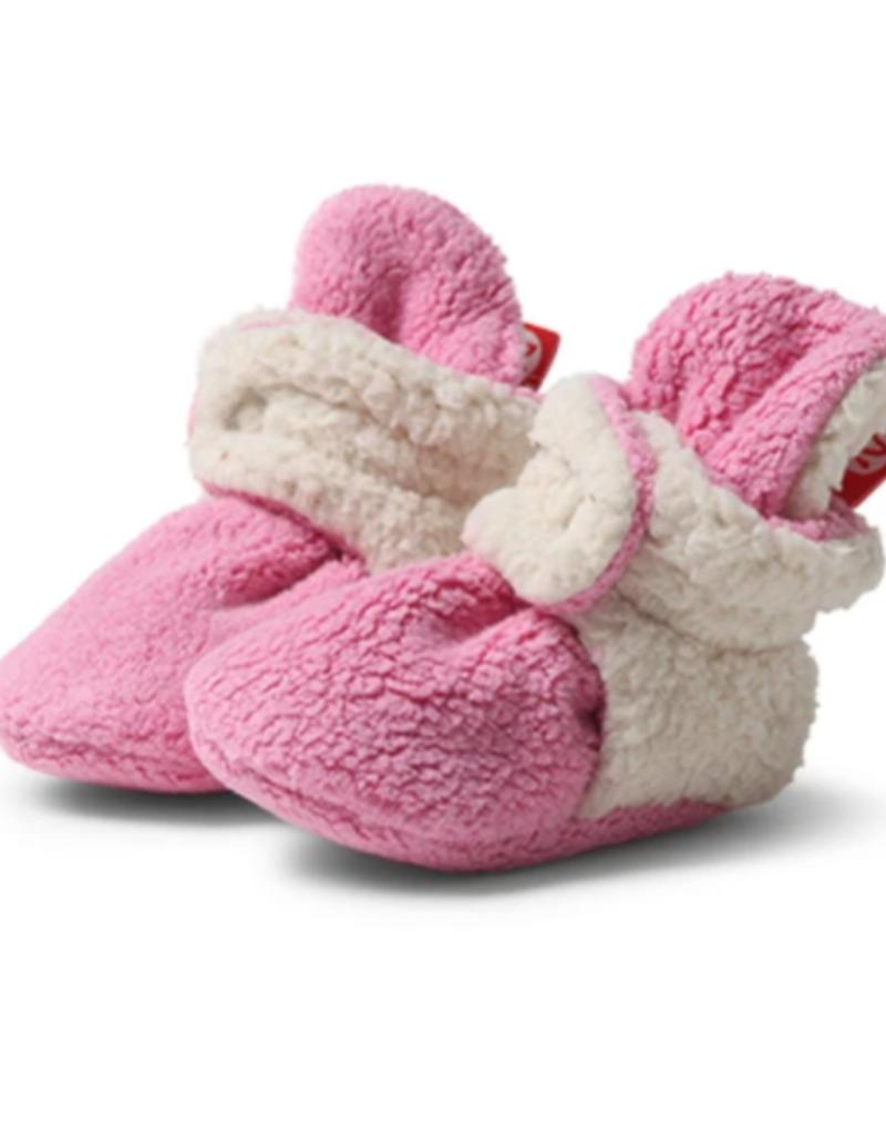 Zutano Furry Bootie Hot Pink