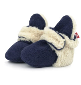 Zutano Furry Bootie True Navy 3M, 6M