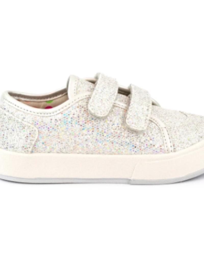 Zutano Nina Double V Shoe Silver