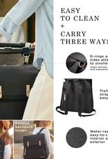 Petunia Pickle Bottom Meta Backpack Black Matte Canvas