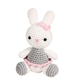 Zubels Dimple Rattle Crochet Bunny