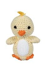 Zubels Chick Crochet Dimple Rattle