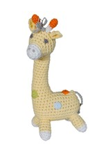 Zubels Giraffe Crochet Dimple Rattle