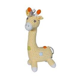 Zubels Dimple Rattle Crochet Giraffe