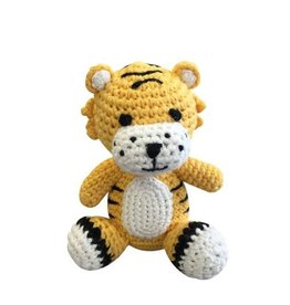 Zubels Dimple Rattle Crochet Tiger
