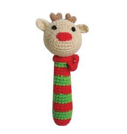 Zubels Stick Rattle Reindeer