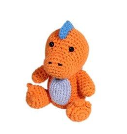 Zubels Dimple Rattle Crochet T-Rex
