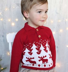 Zubels Moose Sweater 2T-7