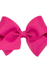 Wee Ones Small Grosgrain Bow Shocking Pink