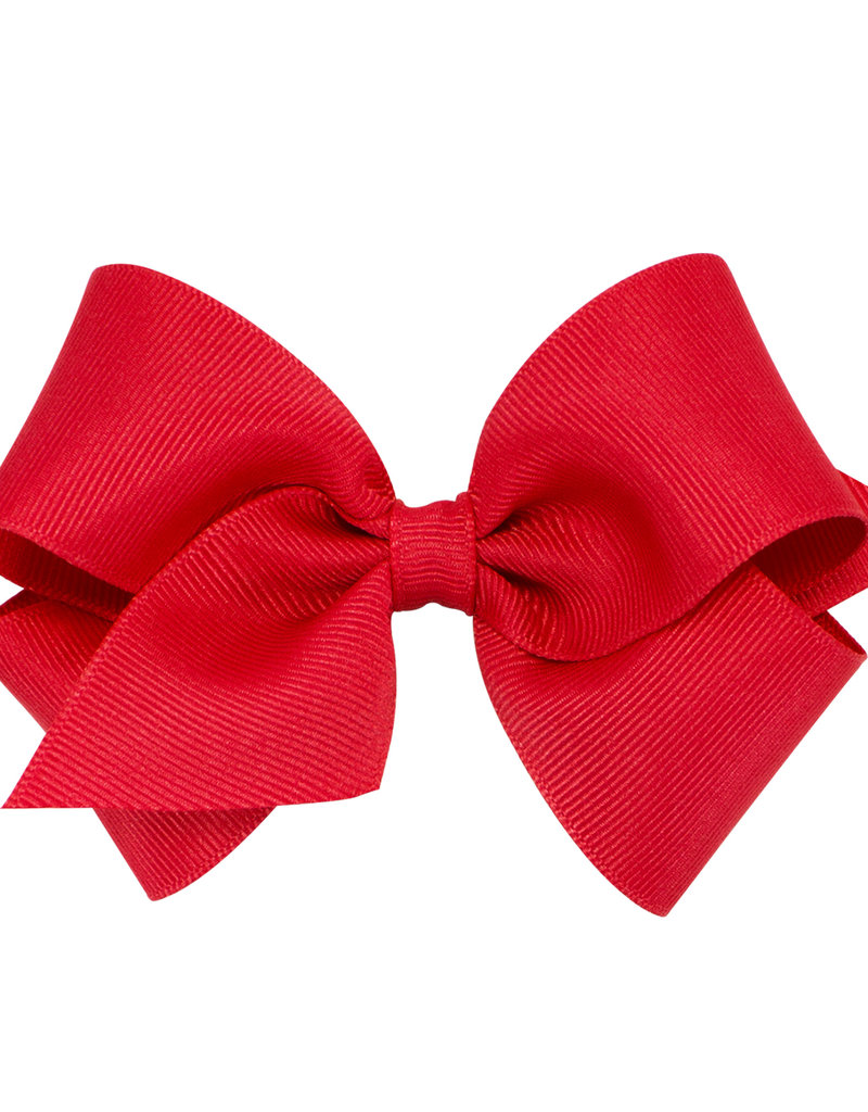 Wee Ones Small Grosgrain Bow Red