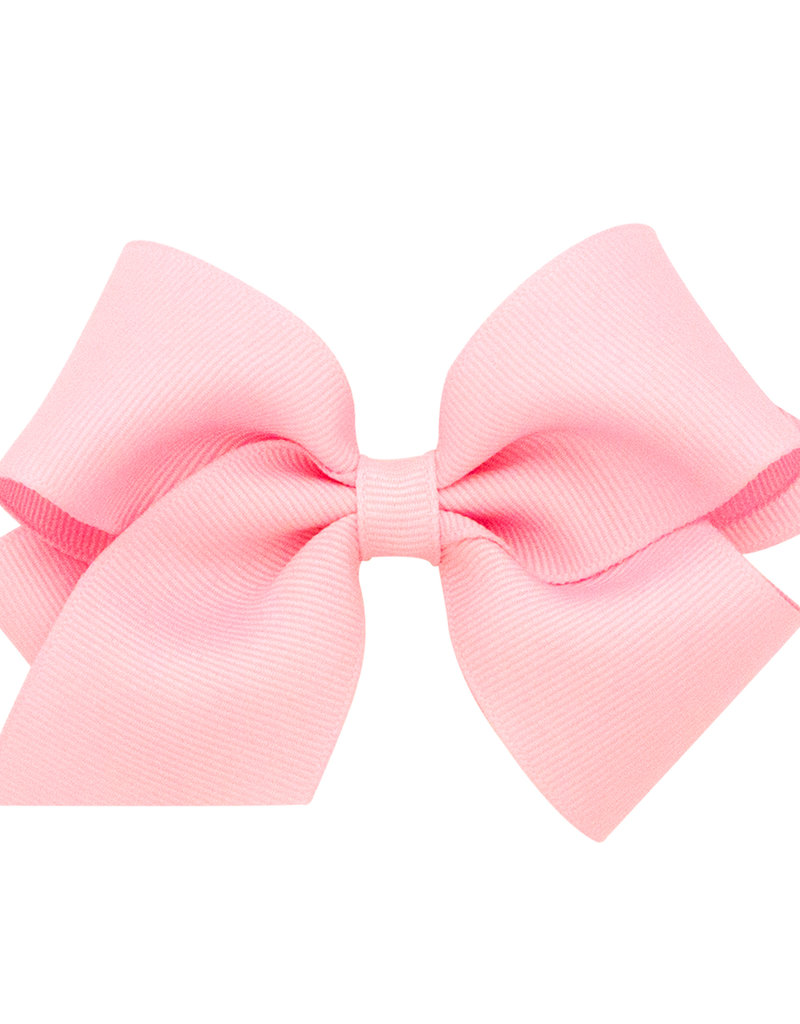 Wee Ones Small Grosgrain Bow Lt Pink