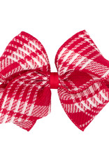Wee Ones Mini King Plaid Christmas Red/White